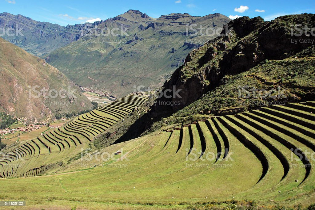 The Sacred Valley stock photo