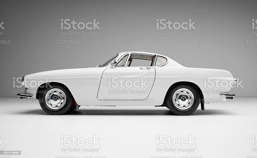 The Saint's Volvo 1800S Model Car stock photo