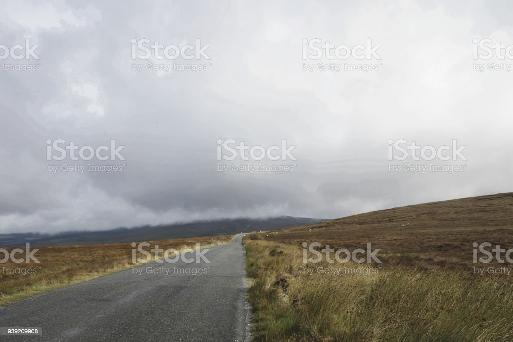 The Sally Gap In Co Wicklow on Irelands East Coast stock photo