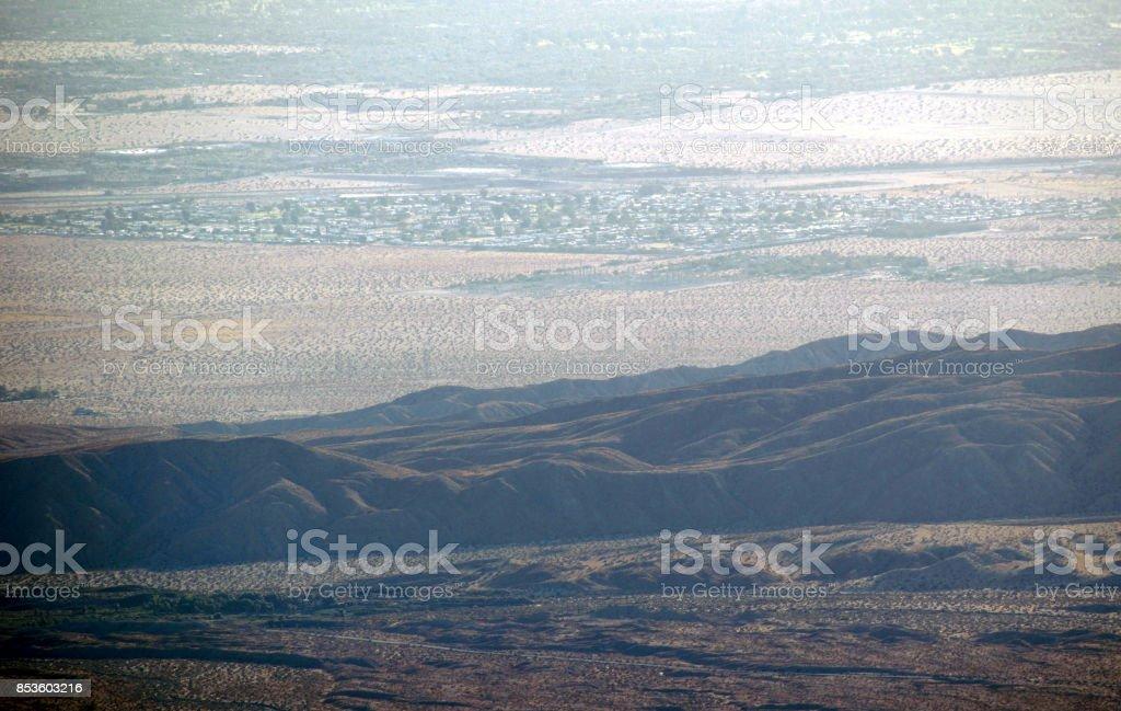 The San Andreas in Coachella Valley stock photo