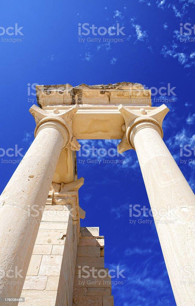 The Sanctuary of Apollo Hylates royalty-free stock photo