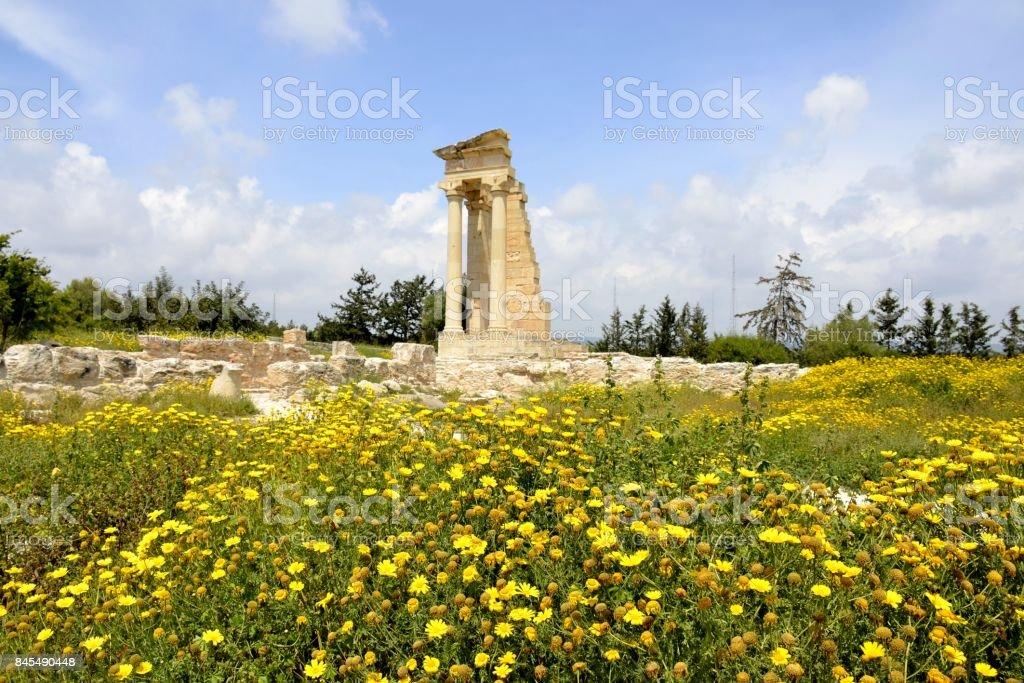 The Sanctuary of Apollo Hylates stock photo