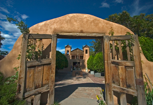 El Sanctuario De Chimayo Stock Photo - Download Image Now