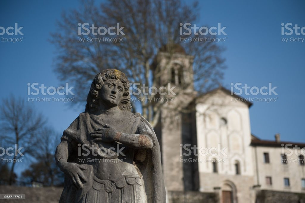 The Sanctuary of the Martyrs Vittore and Corona - foto stock