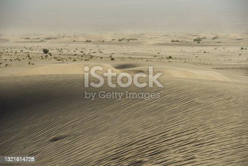 Sand dunes near the town of Fiambalá, Catamarca, Argentina