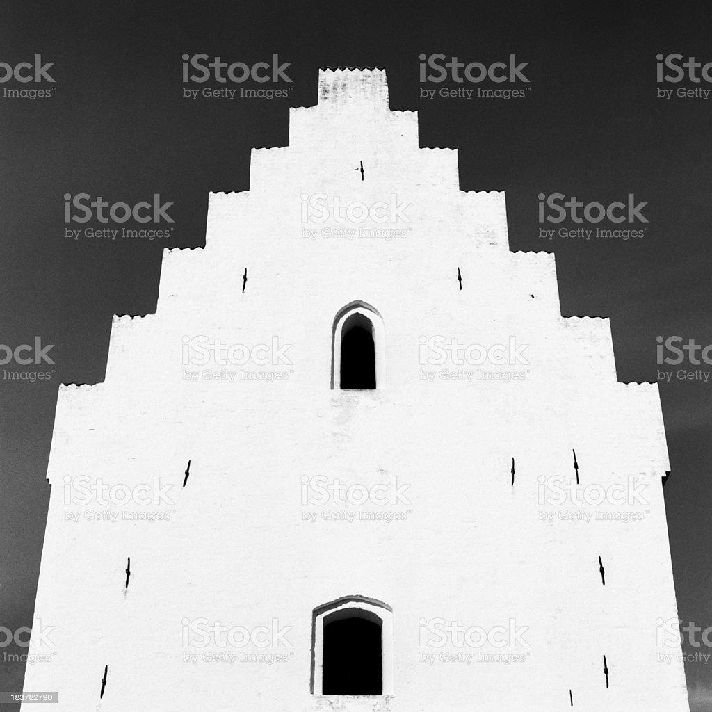 Sand-überdachte Church Lizenzfreies stock-foto