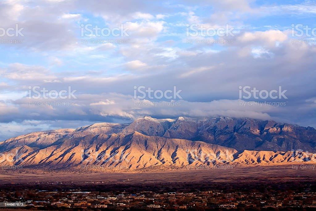 The Sandia's stock photo