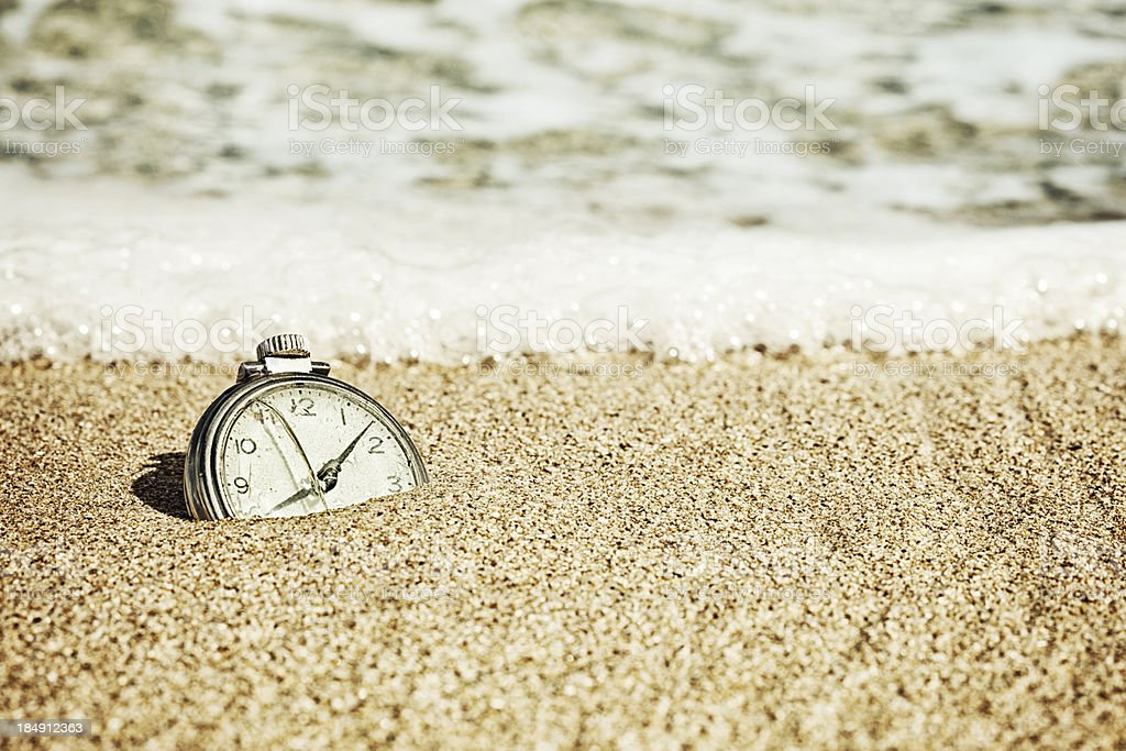 The Sands of Time royalty-free stock photo