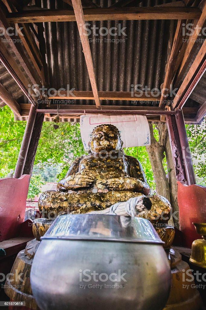 The Sangkat Ja (Thailand). photo libre de droits