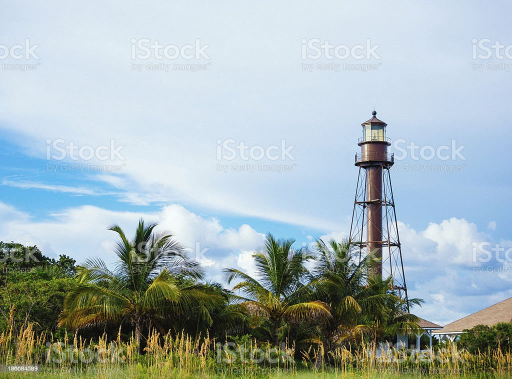 The Sanibel Island Light Stock Photo