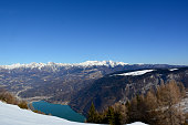 istock the Santa Croce lake seen from Nevegal in Belluno, Italy 1288278480