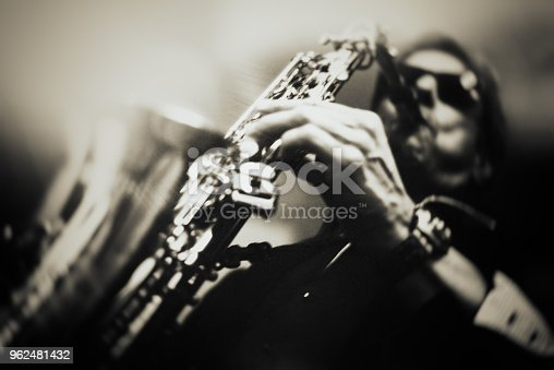 Fine Art Portrait from a Saxophone Player