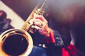 Fine Art Portrait from a Saxophone Player
