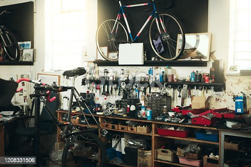 istock The scene is set for your bicycle's restoration 1208331506