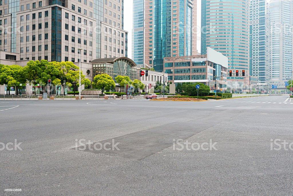 Die Szene des century avenue in shanghai, China. – Foto