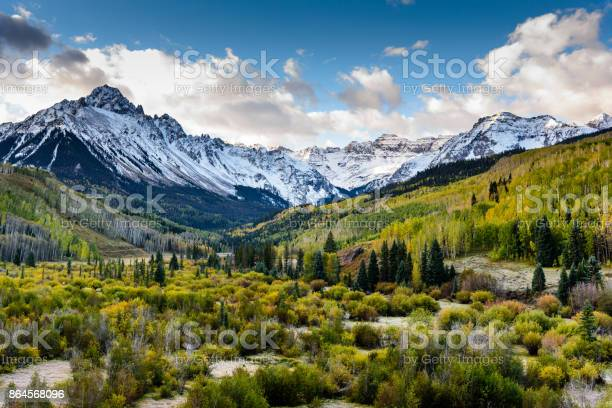 Photo of The Scenic Beauty of the Colorado Rocky Mountains on The Dallas Divide