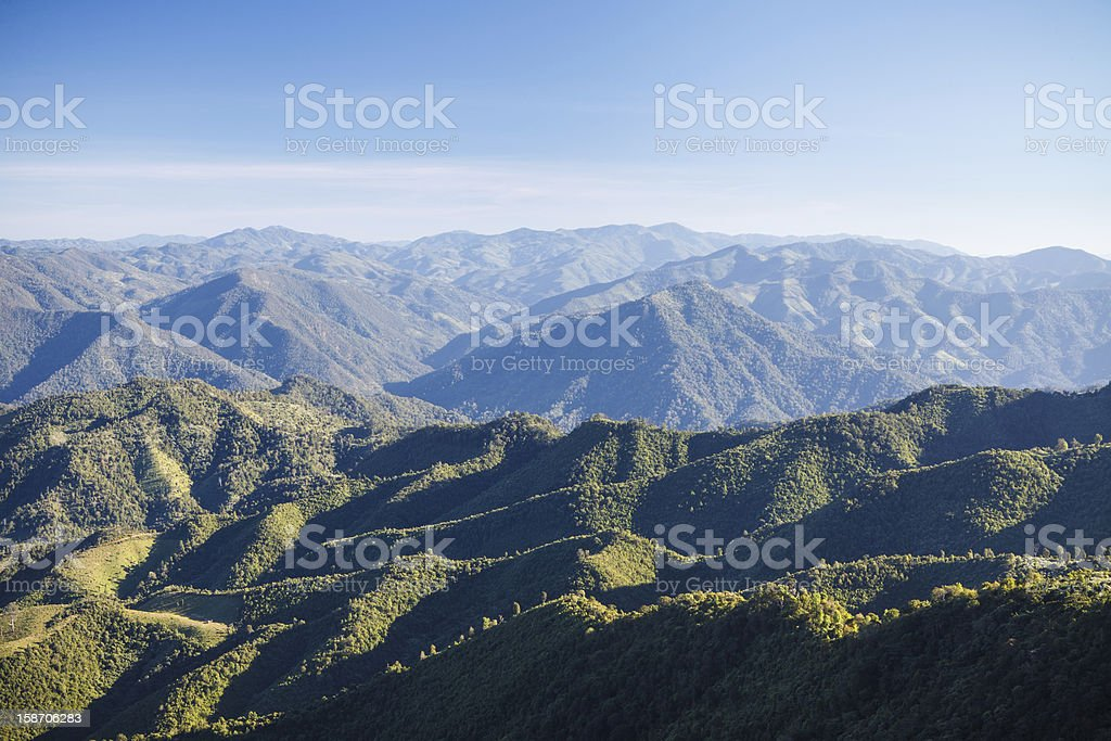 The Scenic Mountains royalty-free stock photo