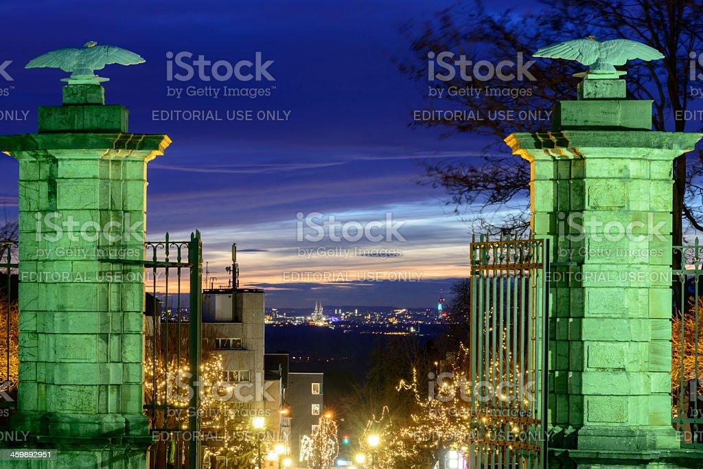 the ' Schloss Hotel Bensberg' Entry stock photo