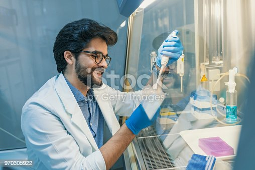 517743436 istock photo The scientist experimented in the laboratory 970305922