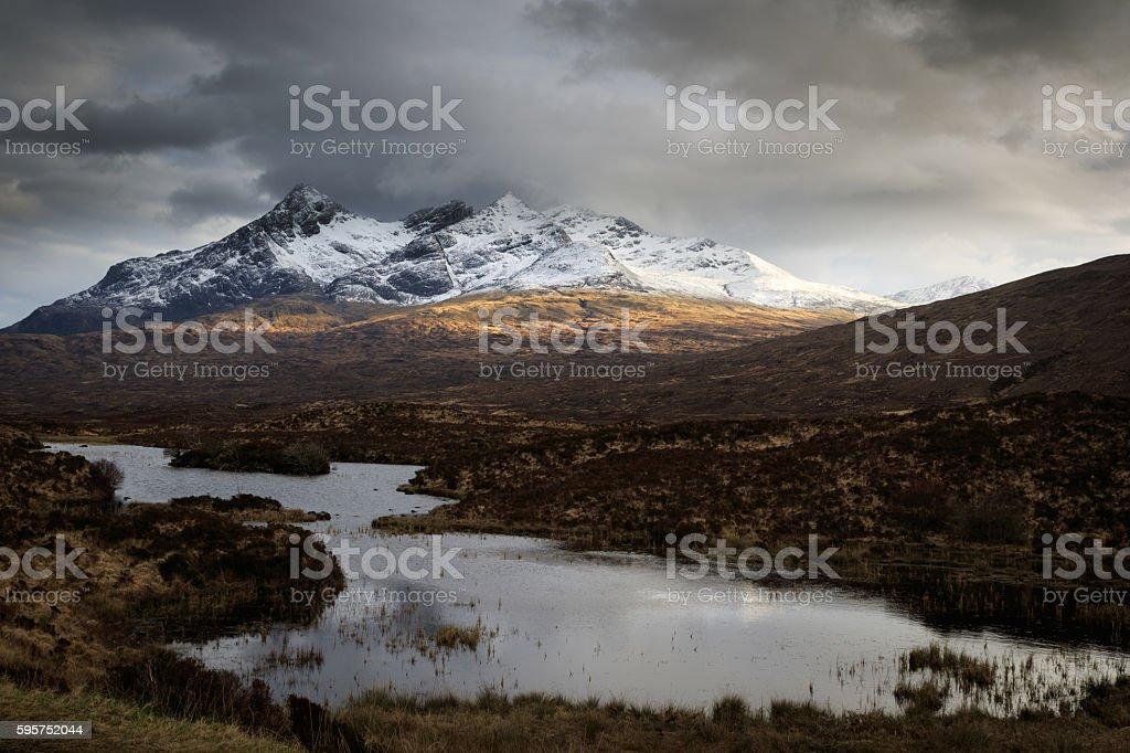 The Scottish Highlands, stock photo