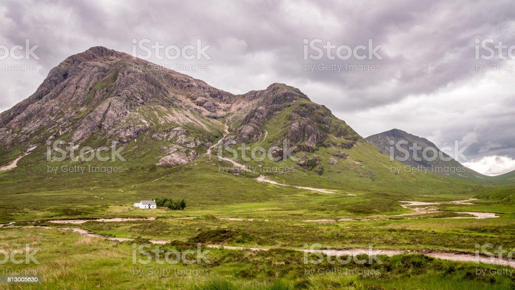The Scottish Highlands stock photo