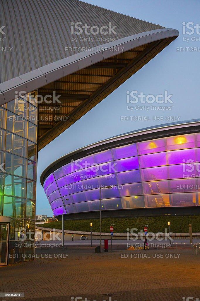The Scottish Hydro Arena, Glasgow stock photo