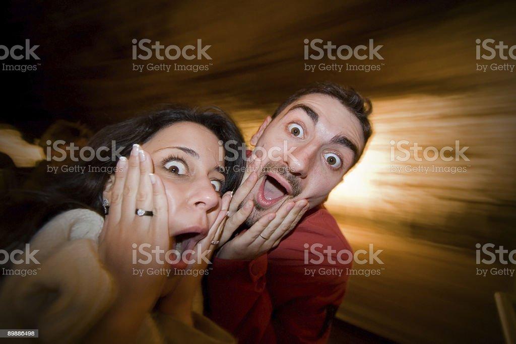 The scream, Munch royalty-free stock photo