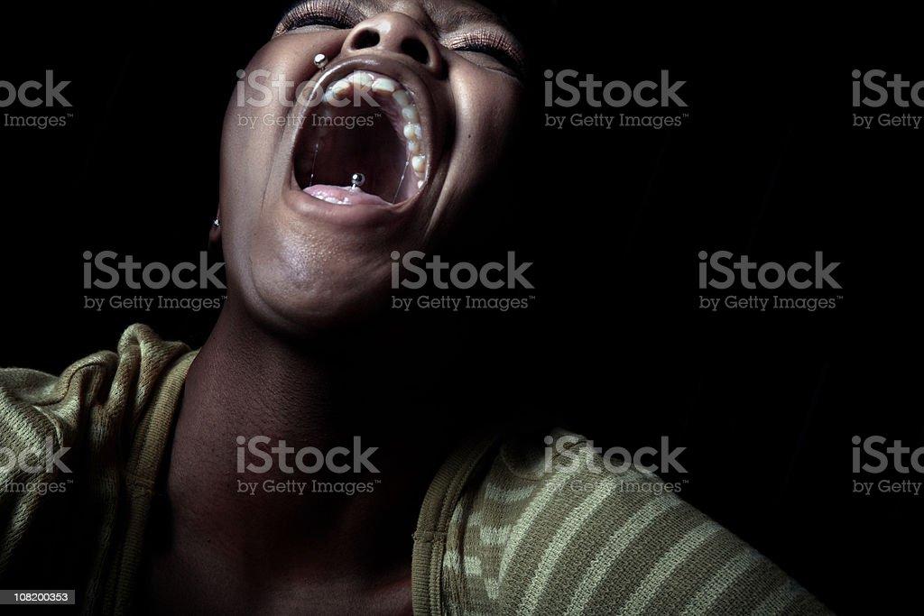 The Scream stock photo