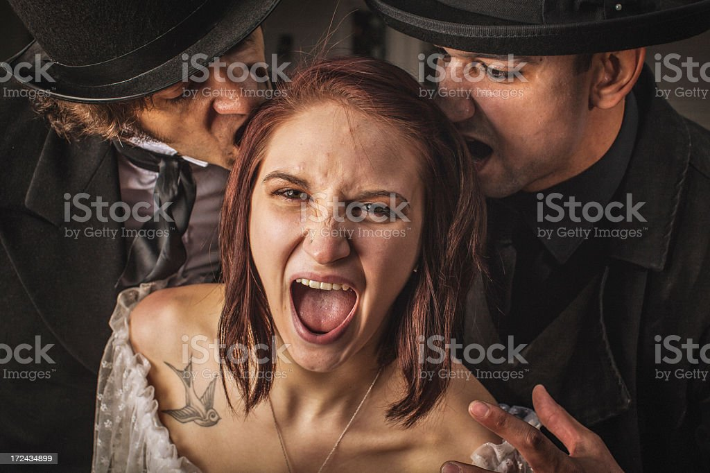 The Scream royalty-free stock photo