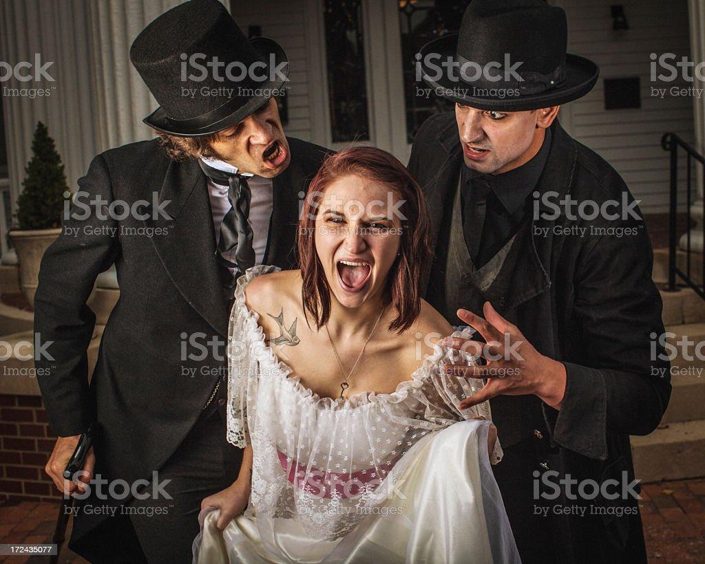 The Scream royalty-free stock photo