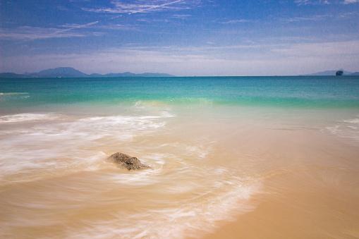 The sea and beach