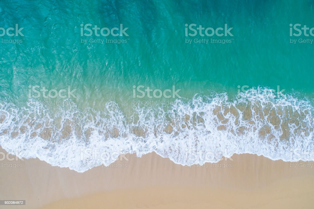 The sea and the island. stock photo