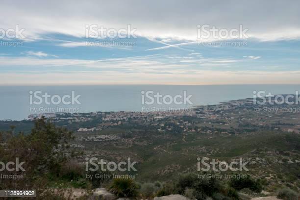 The sea from the top of the mountain in the sierra de irta picture id1128964902?b=1&k=6&m=1128964902&s=612x612&h=7mjtvo7aplaellj3tazbatoeitda  mwf6cktsjbj7a=