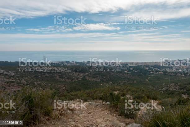The sea from the top of the mountain in the sierra de irta picture id1128964912?b=1&k=6&m=1128964912&s=612x612&h=ta004kqlnhcopjgdfi7simes 6vzvfj7yaeq c8zj1m=