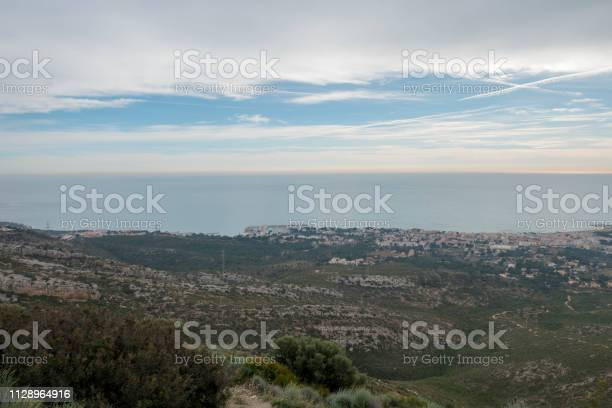 The sea from the top of the mountain in the sierra de irta picture id1128964916?b=1&k=6&m=1128964916&s=612x612&h=sy1njwzgk63ubooqjnp5afvks0nzyhffwfrt54tehdo=