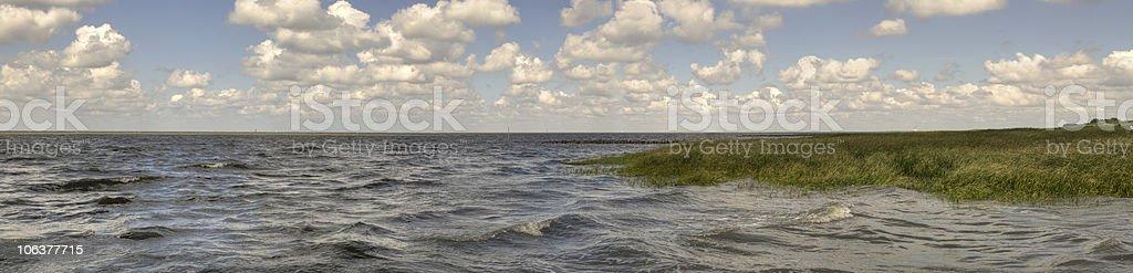The sea - Germany stock photo