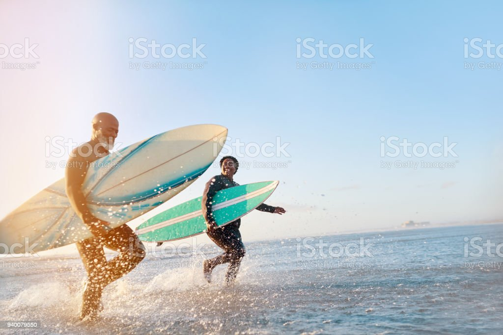 The sea just sets them free stock photo
