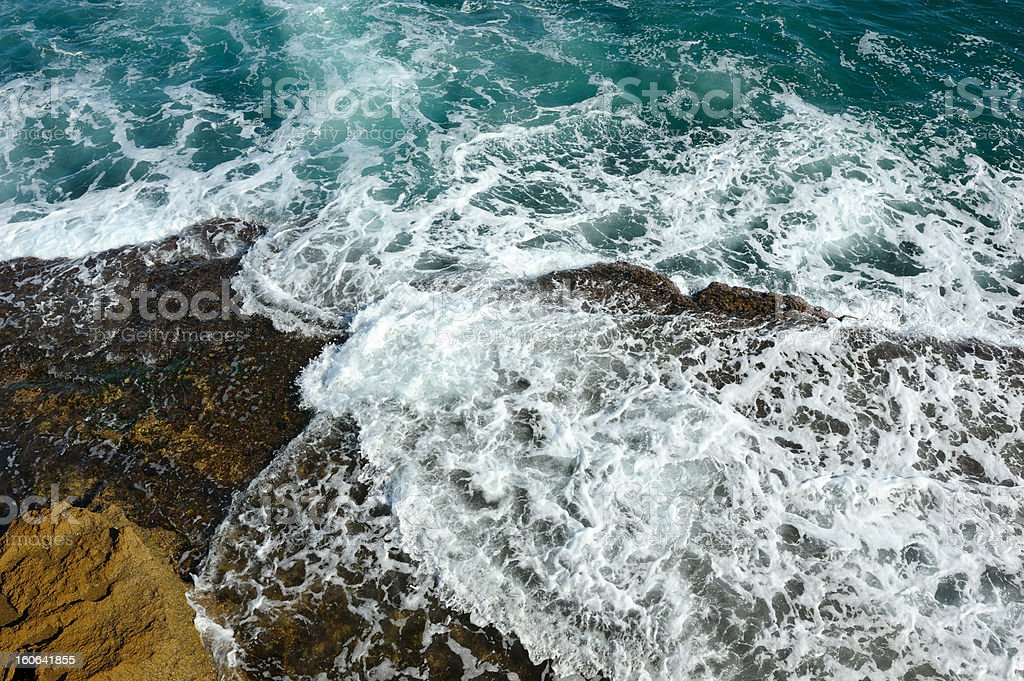 The sea near Acre. royalty-free stock photo