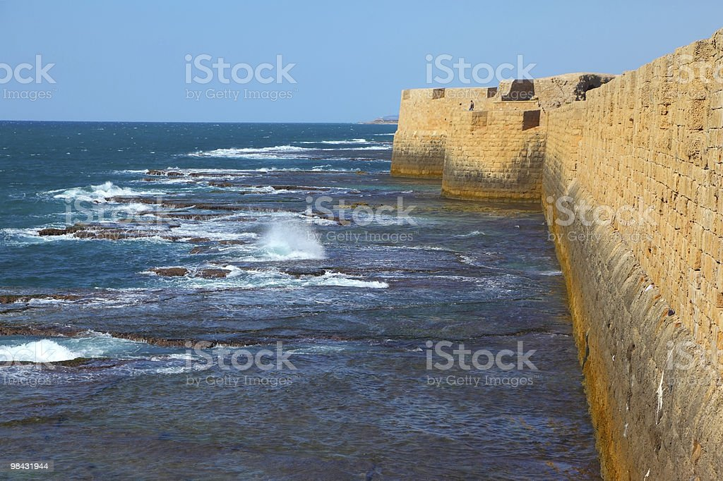 The sea surf royalty-free stock photo