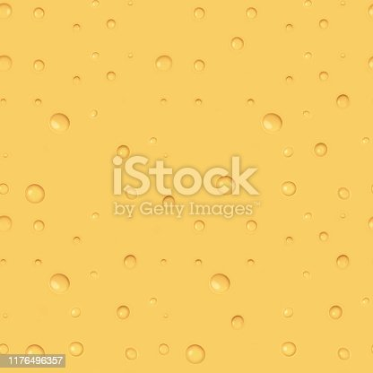 istock The seamless texture of bright yellow cheese. 1176496357