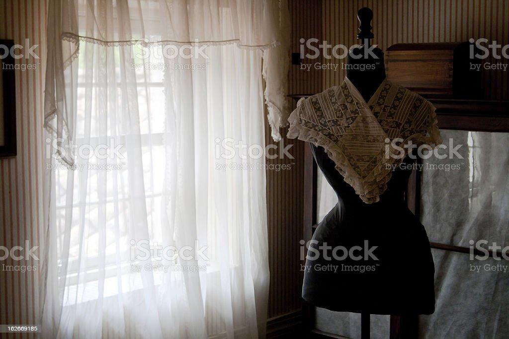 The seamstress atelier royalty-free stock photo