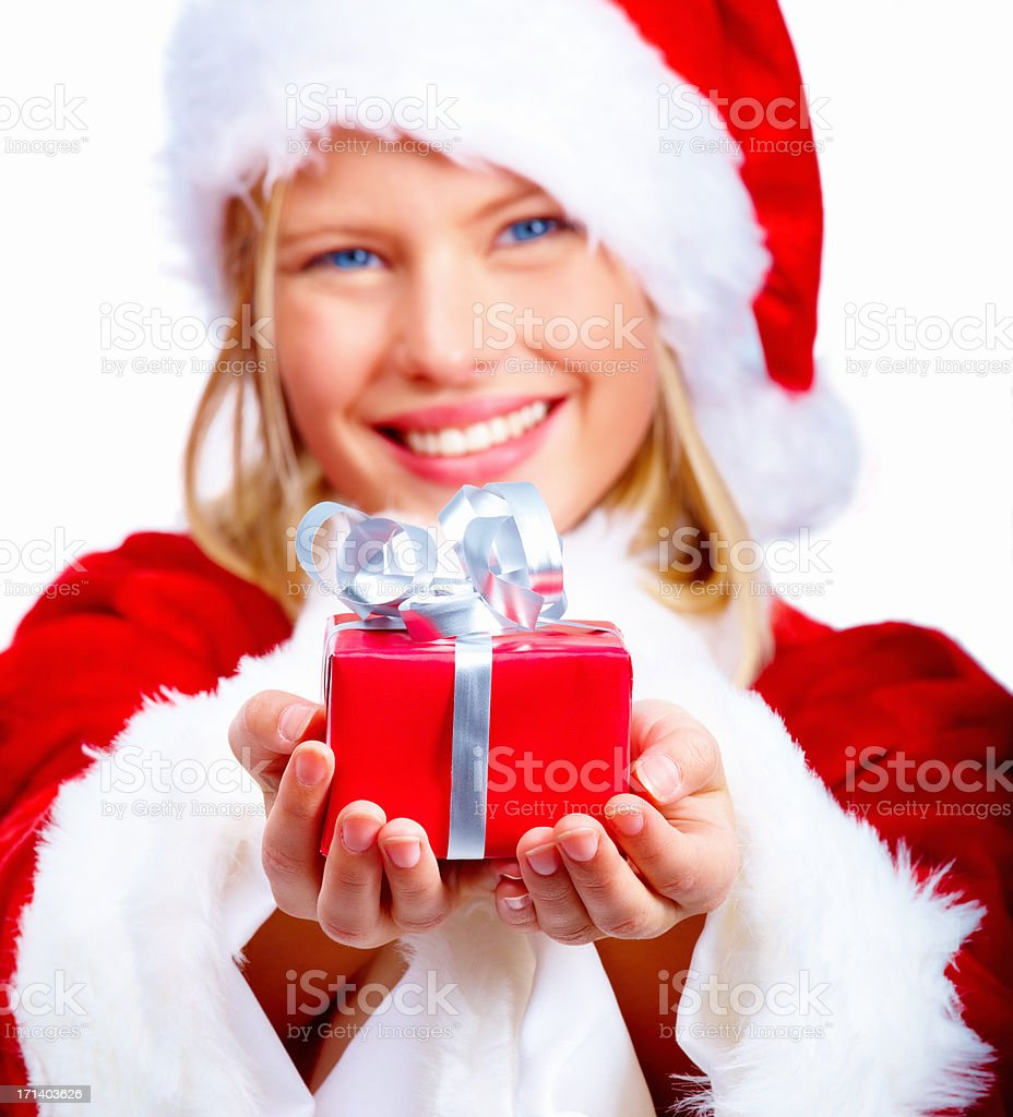The season for giving! royalty-free stock photo