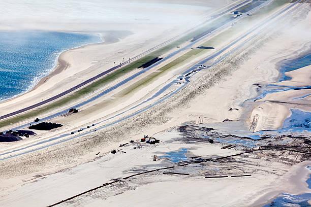 The second maasvlakte aerial foto