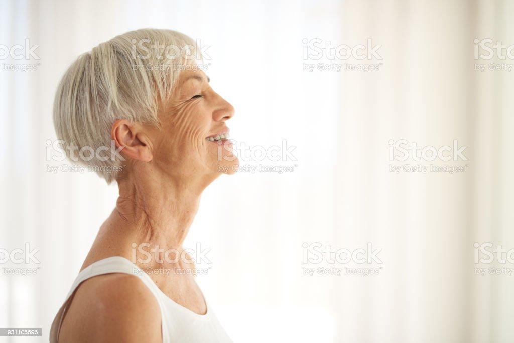 Das Geheimnis des Alterns anmutig? Sie umarmen – Foto
