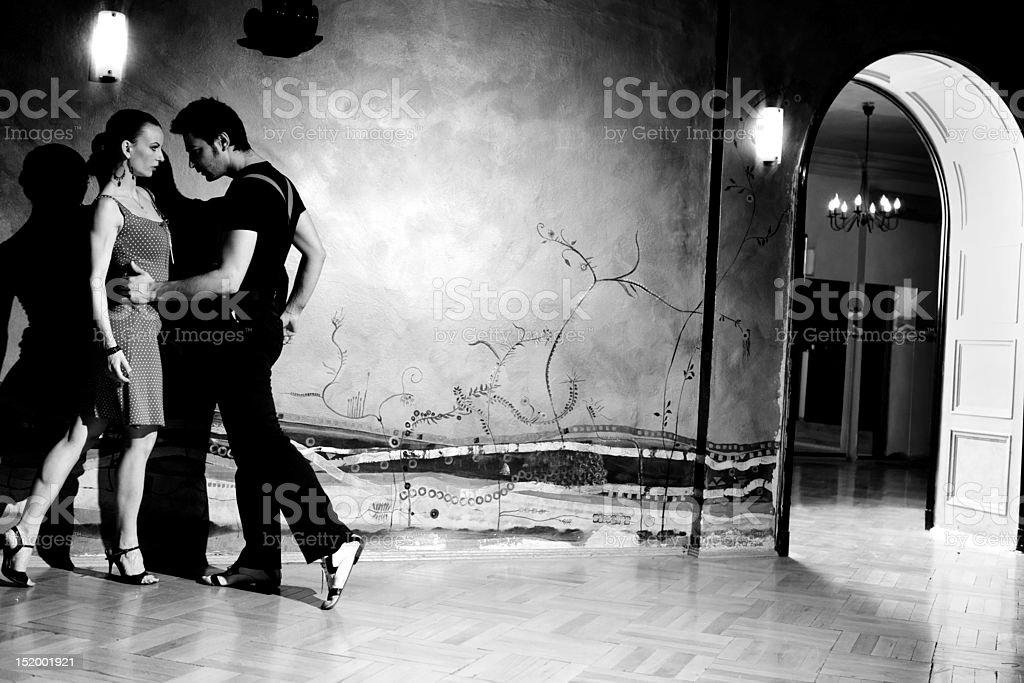 The Seduction Dance stock photo