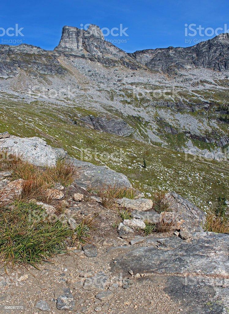 The Selkirk Range, B.C. stock photo