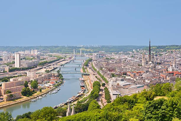 Die Sena in Rouen – Foto