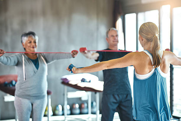 The senior years don't have to be the sedentary years – Foto