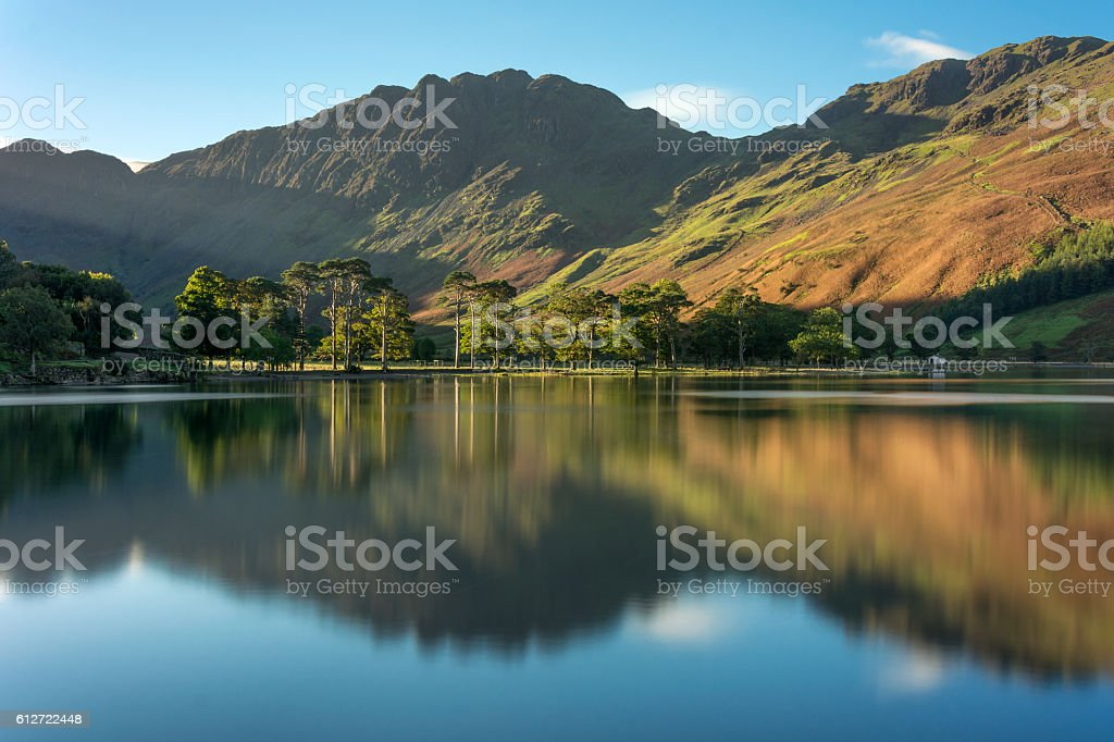 The Sentinels, Buttermere, Lake District, UK. stock photo
