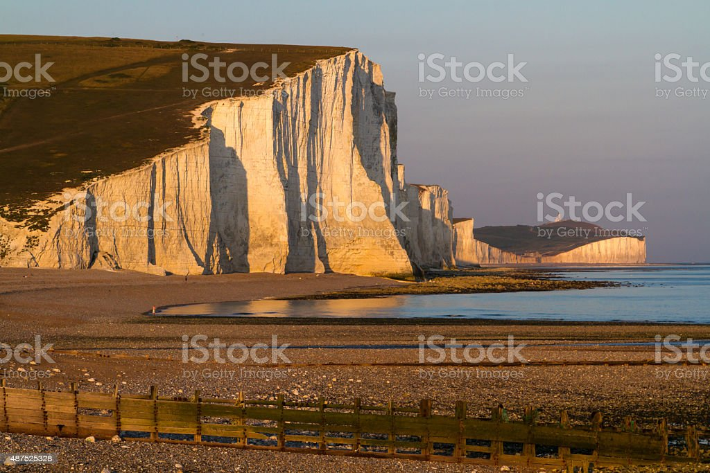 The Seven Sisters stock photo